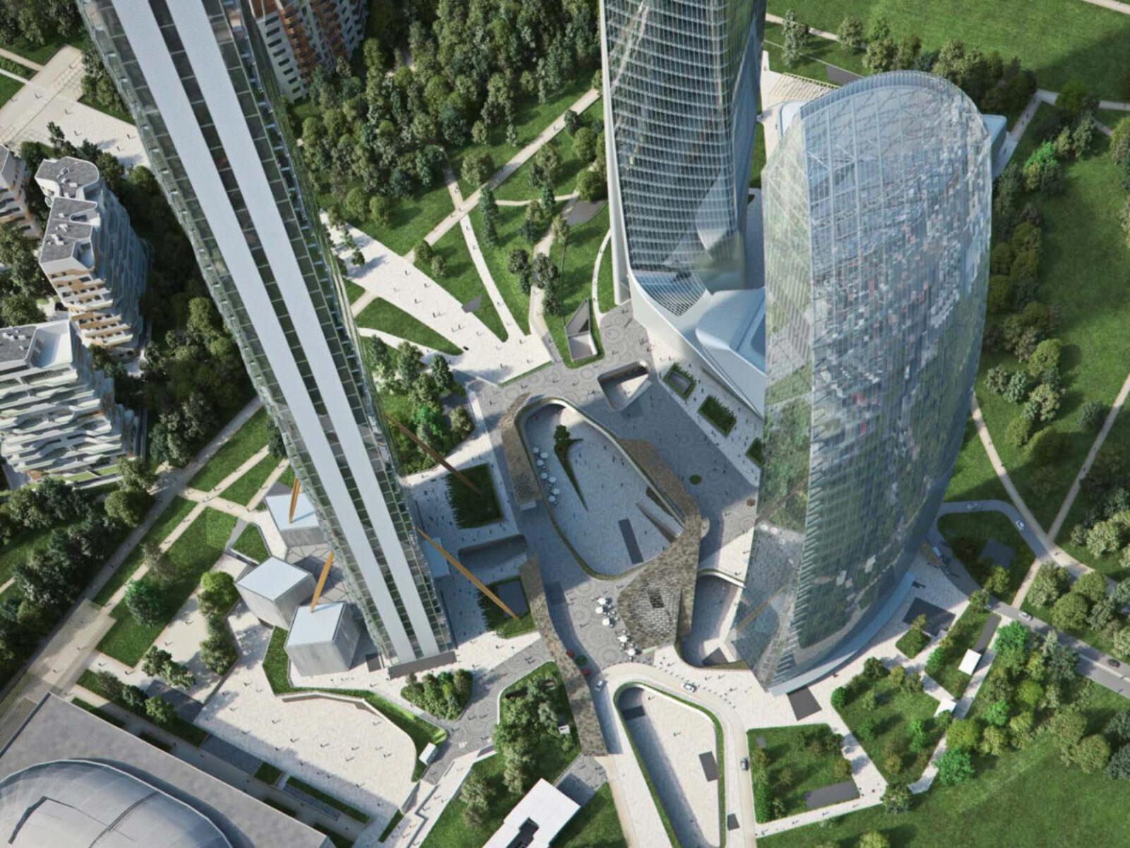 CityLife – Directional – Hadid, Isozaki and Libeskind Buildings