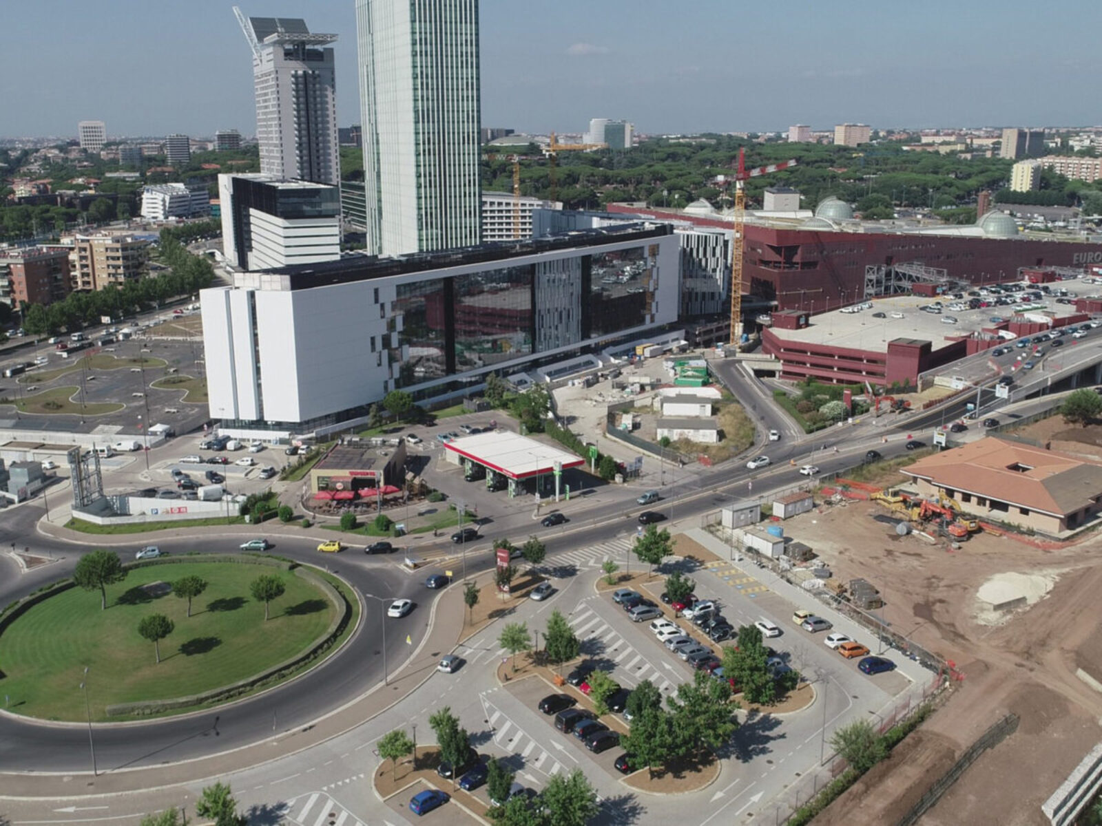 Europarco Business Park – Urbanization and Consortium Works