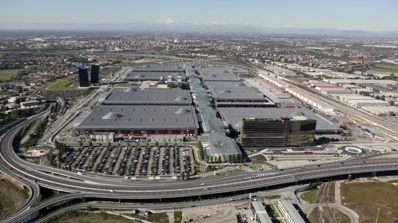 Fiera di Rho Parking: The skydata and telepass systems have been implemented