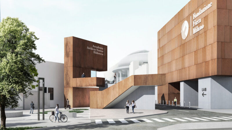 A new façade for the MiCo Congress Center and new spaces for the Nuova Fiera Milano