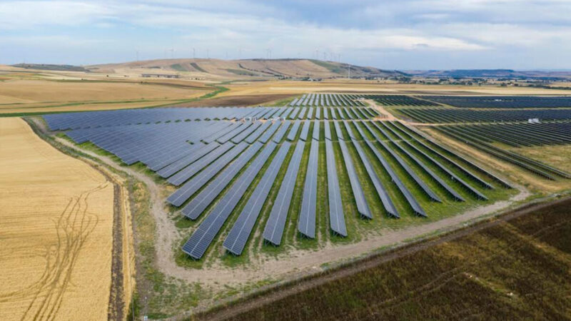 EOS at the side of European Energy over the construction of the Troia Solar Plant